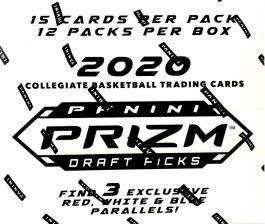 2020/21 PANINI PRIZM COLLEGIATE DRAFT PICKS BASKETBALL  - 15 Card Packs