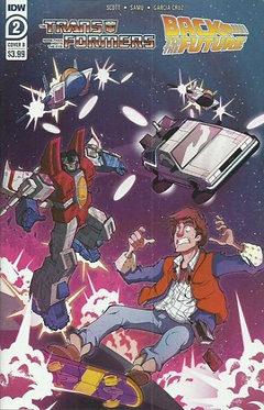 The Transformers / Back To The Future #2B