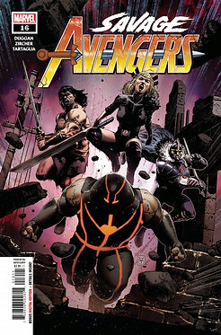 Savage Avengers 16A