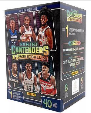 2019/20 PANINI CONTENDERS BASKETBALL 5-PACK BLASTER BOX
