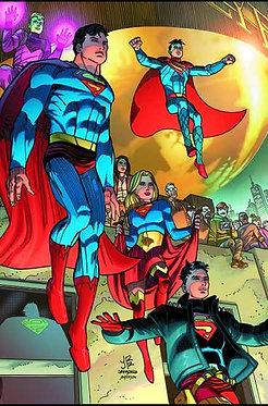 Action Comics #1028 (Cover A - John Romita Jr & Klaus Janson)