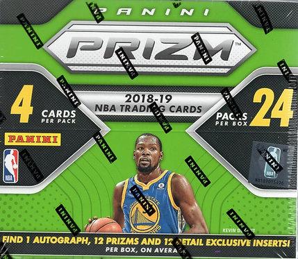 2018 Panini Prizm Basketball Fast Break Box