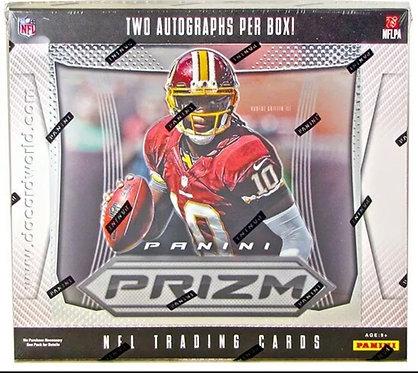 2012 Panini Prizm Football Hobby Box Packs