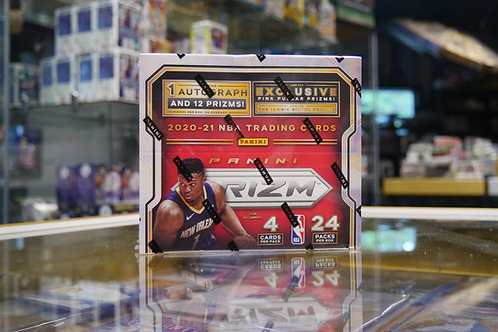 2020-21 PANINI PRIZM NBA BASKETBALL FACTORY SEALED 24 PACK RETAIL BOX 1 AUTO