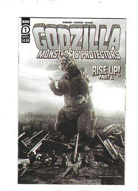 Godzilla Monsters & Protectors #1