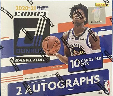 2020-21 Donruss Basketball Choice basketball Box