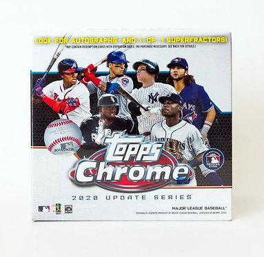 2020 Topps Chrome Update Series MLB Baseball Mega Box