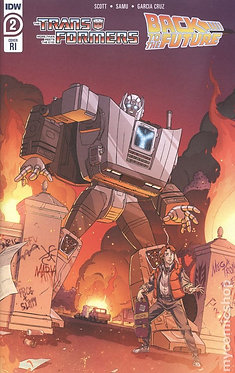 The Transformers / Back To The Future #2C
