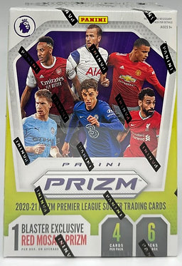 2020-21 Panini Prizm English Premier League Soccer Blaster Box