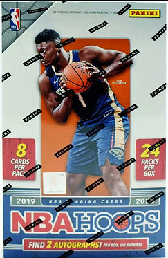 2019/20 PANINI HOOPS BASKETBALL - 8 Card Packs