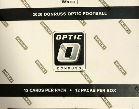 2020 Donruss Optic Football Factory Sealed Cello Fat Pack Box