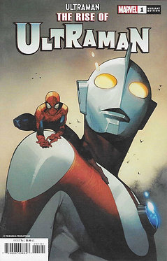 Rise Of Ultraman #1 SpiderMan Variant