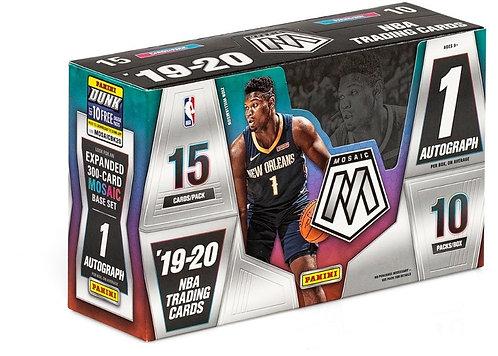 2019-20 Panini Mosaic Basketball - 15 Card Packs