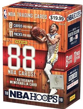 NBA 2018/19 Hoops Basketball Trading Card BLASTER Box