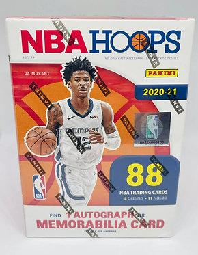 2020-21 Panini NBA Hoops Blaster Box 88 Cards