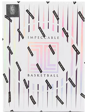 2019-20 Panini Impeccable Basketball Sealed Hobby Box