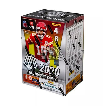 2020 Panini Mosaic Football 8 Pack Blaster Box
