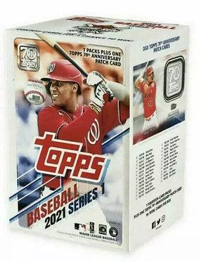 Topps MLB S1 Baseball Trading Card Blaster Box - 2021