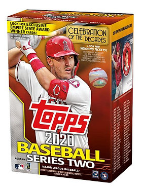Topps 2020 Base Ball Series 2 - 46 Card Pack