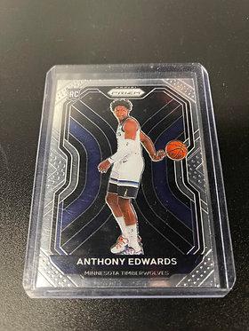 Anthony Edwards Prizm Rookie Base