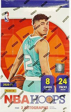 2020/21 Panini NBA Hoops Basketball  - 8 Card Packs