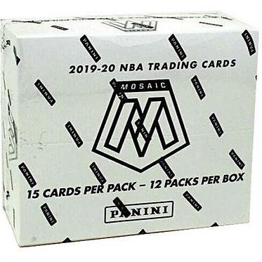 NBA Panini 2019-20 Prizm Mosaic Basketball Trading Card  - 15 Card Packs