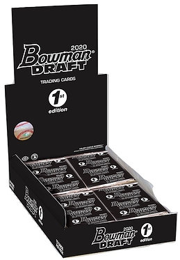 2020 Bowman 1st Edition Baseball - 10 Card Pack