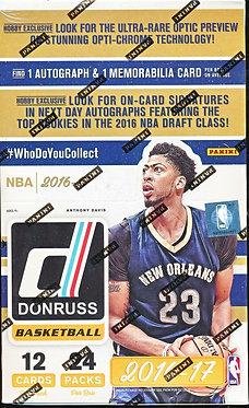 2016/17 PANINI DONRUSS - 12 Card Packs