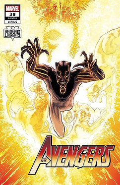 Avengers #38 Variant Kuder Black Panther Phoenix