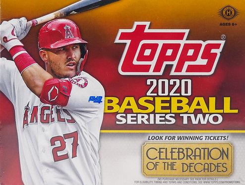 2020 Topps Basball Trading Cards Series II