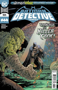 DETECTIVE COMICS #1026 CVR A KENNETH ROCAFORT (JOKER WAR)