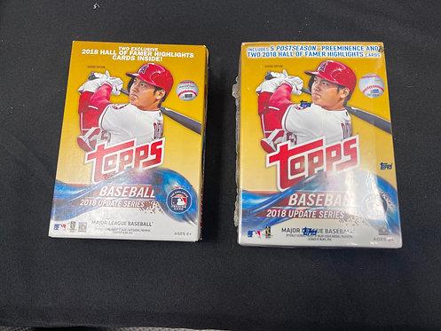 Topps 2018 Baseball Blaster&Hanger