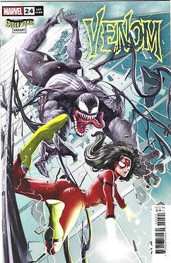 Venom #24 (Rock-He Kim Spider-Woman Variant)