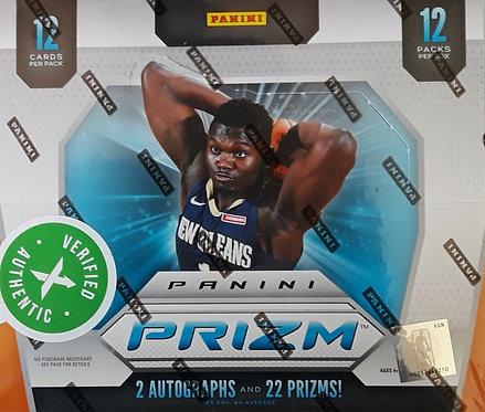 2019-20 Panini Prizm NBA Basketball - 12 Card Packs