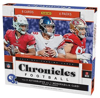 2019 Panini Chronicles Football - 8 Card Packs