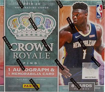 2019-20 Panini Crown Royale BasketballHobby Box