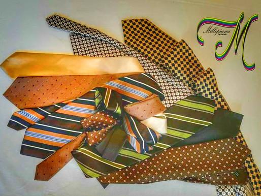 AAA Cercasi cravatte che si trasformeranno in un'opera d'arte, il MILLEPIUME!