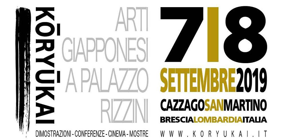Cazzago San Martino - Kōryūkai: Arti Giapponesi a Palazzo Rizzini - Edizione 2019