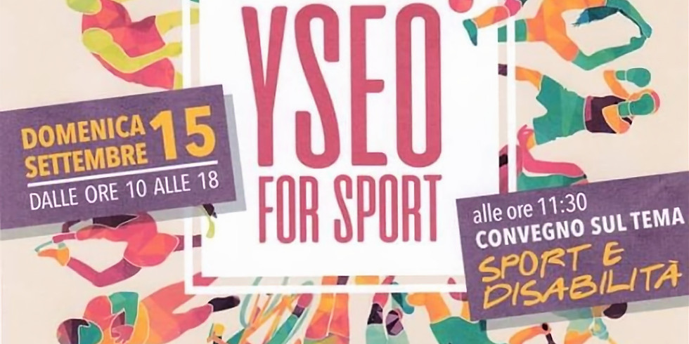 """""""YSEO FOR SPORT"""""""