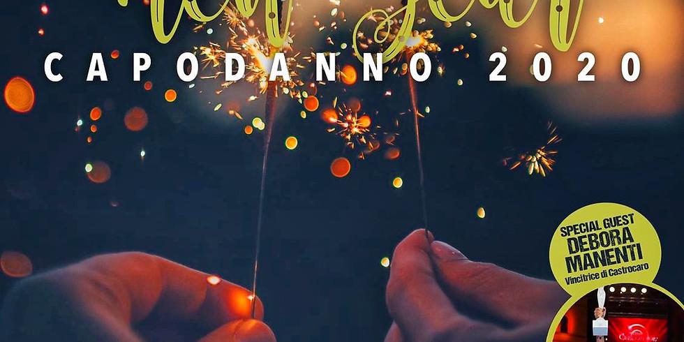 Capodanno 2020 in piazza a Iseo con i Rock a Domicilio e Debora Manenti