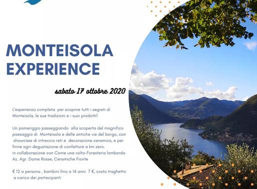 Monteisola Experience | sabato 17 ottobre 2020