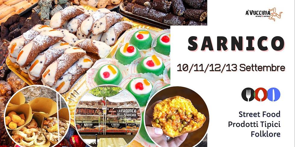 dal 10 al 13 settembre Sicilia Street Food - Sarnico/ Lido di Nettuno