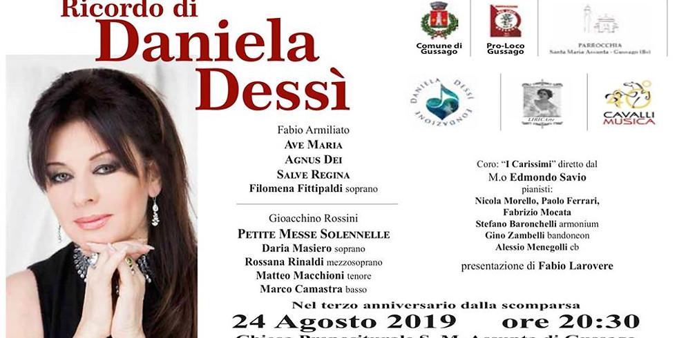 Ricordo di Daniela Dessì