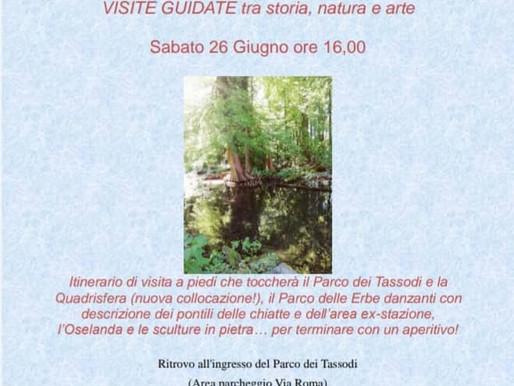 Le visite guidate di giugno con Alessandra a Paratico e Vallecamonica