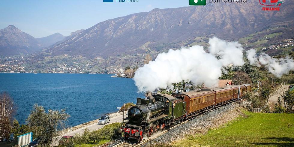 Iseo Express Treno storico da Brescia a Pisogne