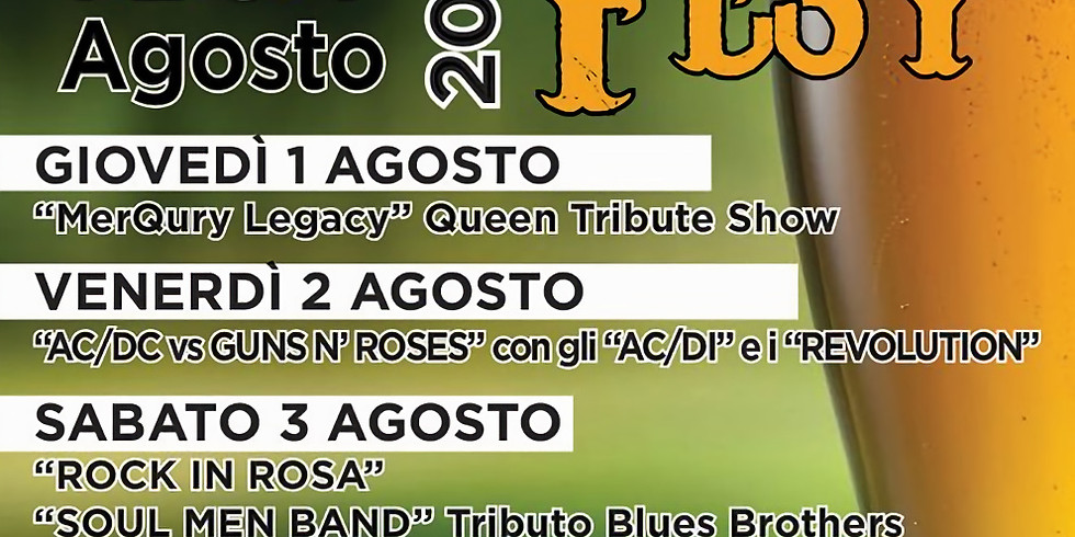 Borgonato (Corte Franca) 1/4 agosto 2019  25^Burgunat Fest