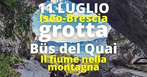 Escursione in Grotta Bus del Quai