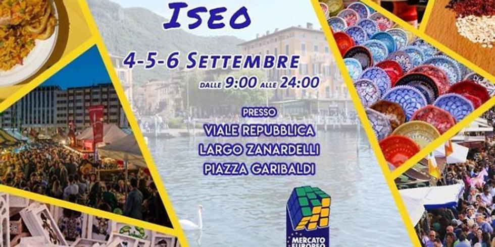 DAL 4 AL 6 SETTEMBRE 2020 A ISEO | MERCATO EUROPEO
