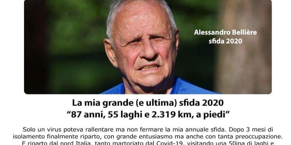 La mia grande, ultima sfida, Alessandro Bellière si racconta