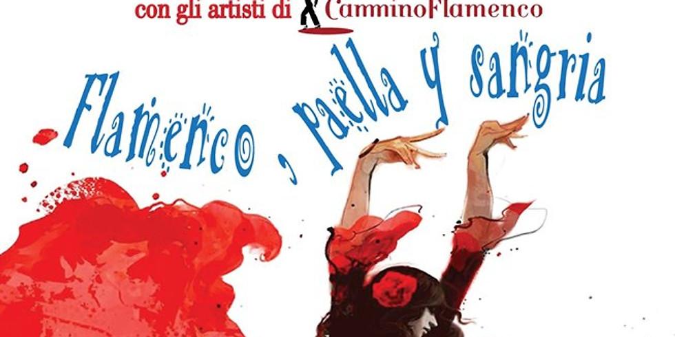 Marone  17 agosto 2019 Flamenco, Paella y Sangria - cena spettacolo